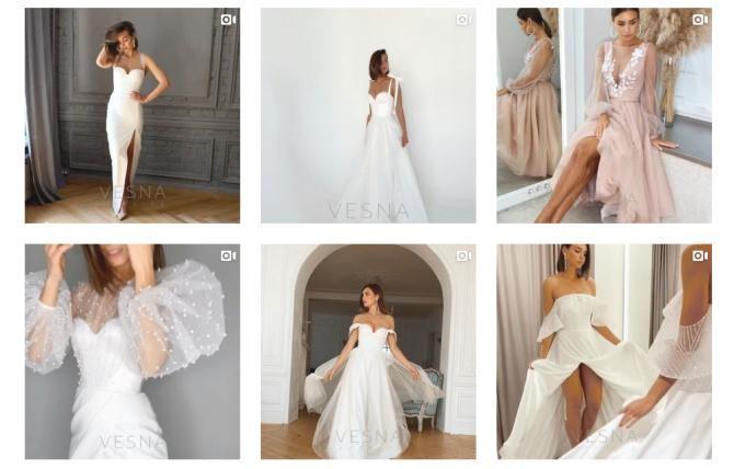 свадебные платья vesnawedding.ru