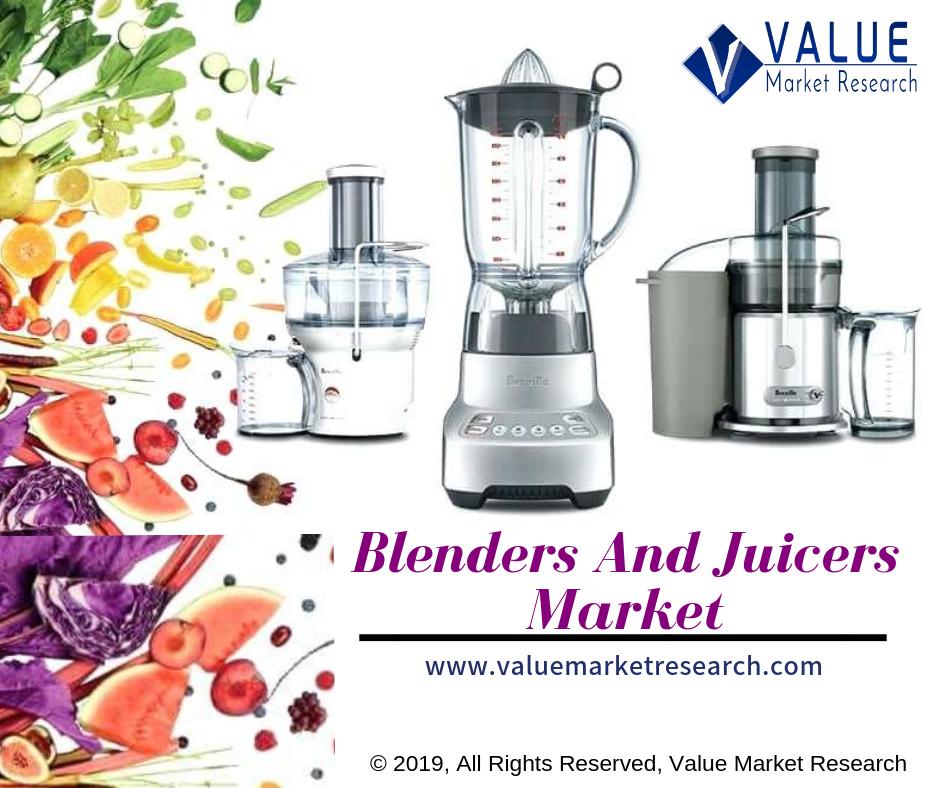 Blenders And Juicers Market: Dynamics, Segmentation and Regional