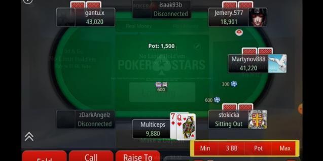 Мобильный клиент ПокерСтарс Мобайл