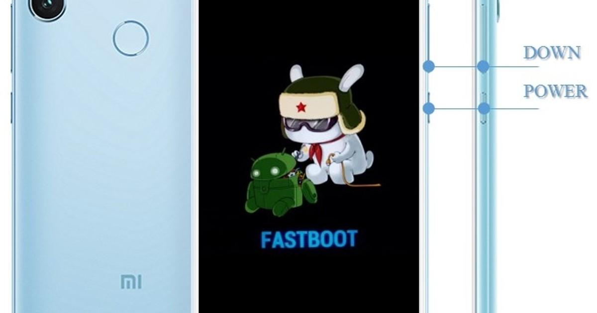 Как войти в Fastboot Xiaomi