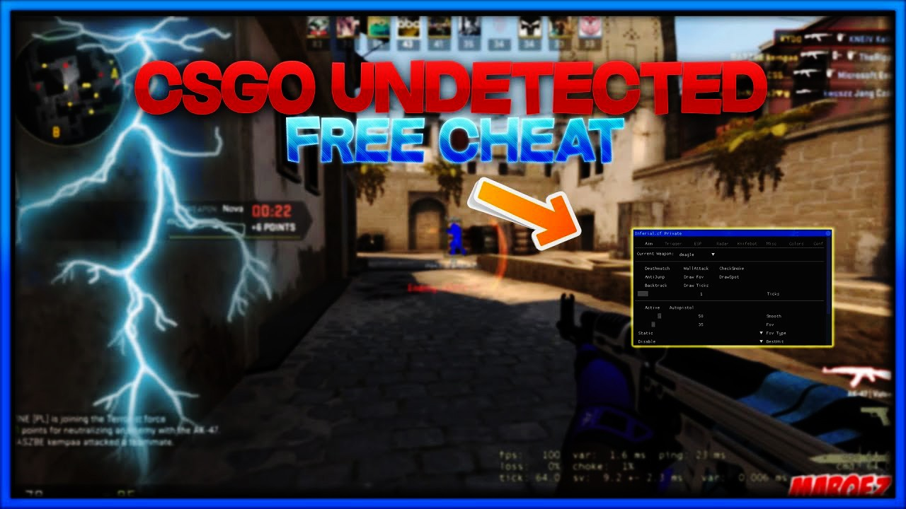 BEST FREE CS:GO Hack + INJECTOR ! UNDETECTED ✅2019✅ — Teletype