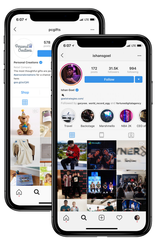 Instagram Hierarchy  Who can get the Blue Tick & The Highest