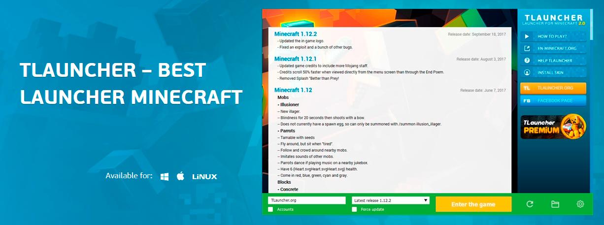 Tlauncher Best Minecraft Launcher Teletype