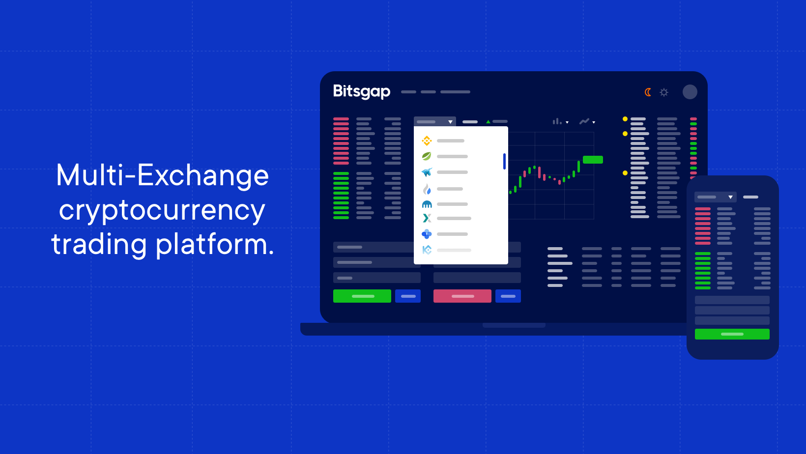 All-in-one trading platform for your Bitcoins and other