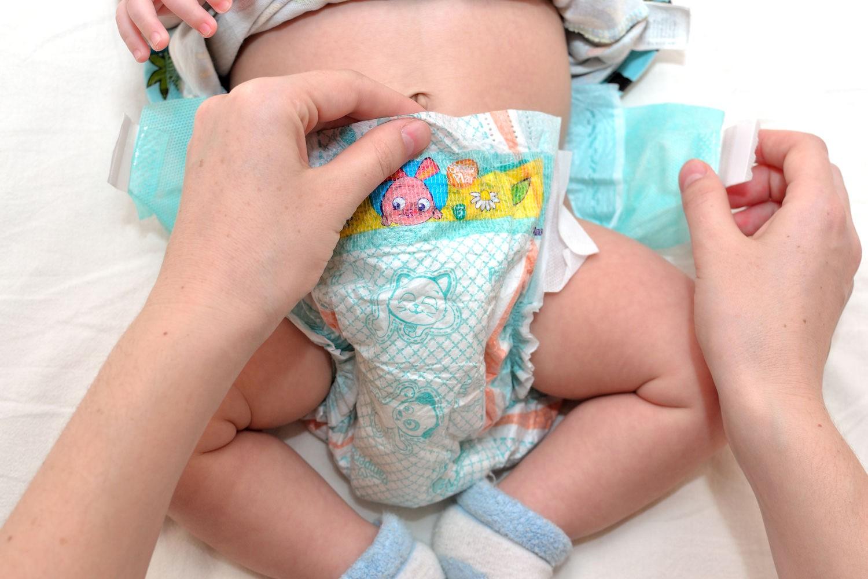 Снилось одевание памперса на младенца