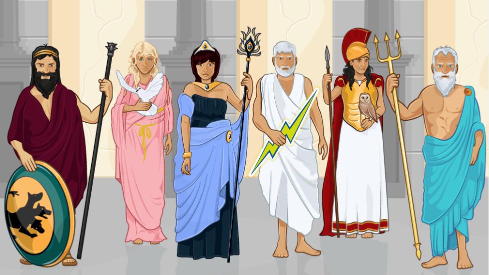 Картинки всех древних богов