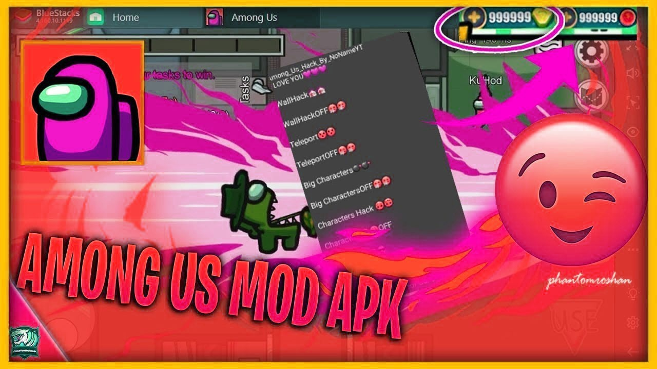 AMONG US MOD MENU APK | PRIVATE HACK v2020.9.9 — Teletype